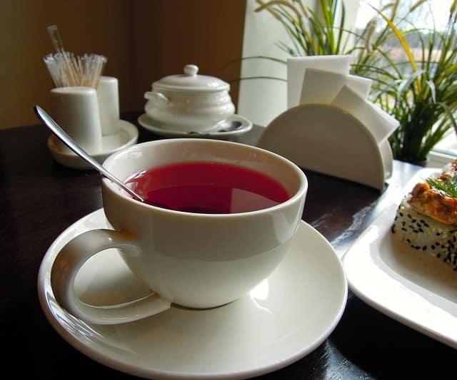 Recette thé à l'hibiscus