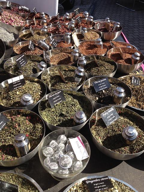 variétés de thé vert
