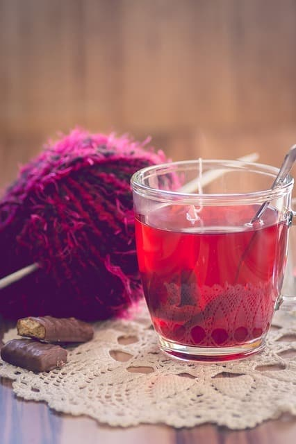 thés à l'hibiscus