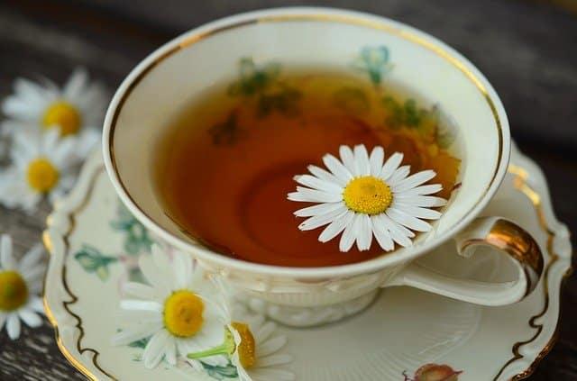 Bienfait de la Thé à la camomille