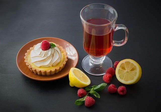 comment préparer un thé Thé glacé à la framboise  et au citron vert