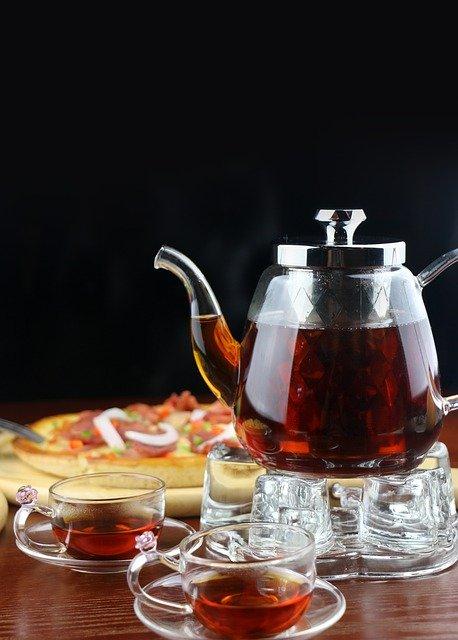 thé noir histoire
