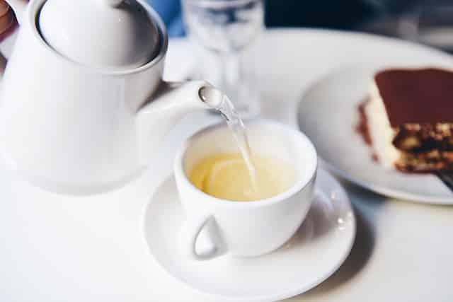 taux de caféine dans le thé blanc