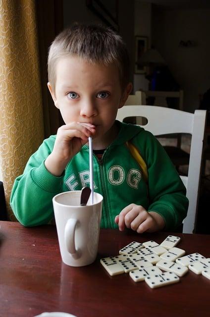 boisson pour dents saines
