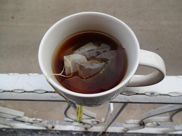 produits chimiques dans le thé