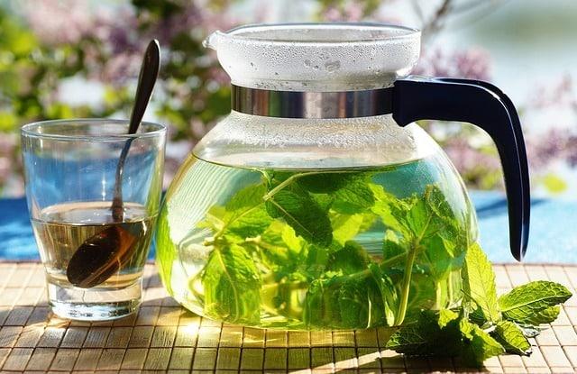 avantages de thé à la methe poivrée