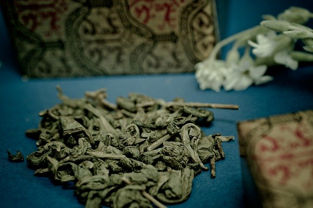 conservation de thé vert