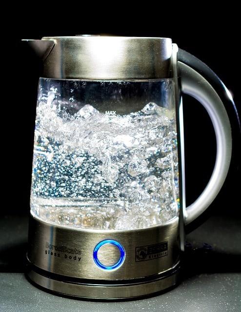 infusion avec eau bouillante