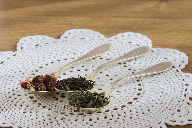 production de thé noir