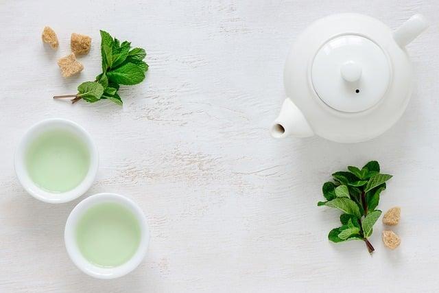 effet de thé vert pour la perte de poids
