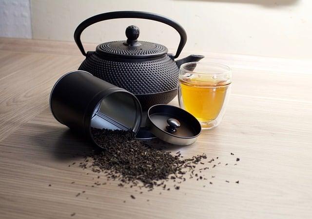 thé noir traitement