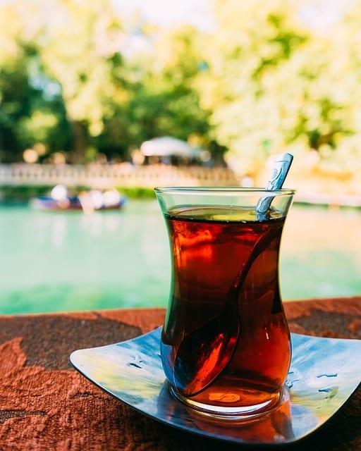 thé parfumé à la bergamote