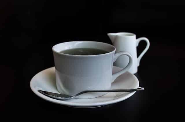 taux de caféine dans le thé noir