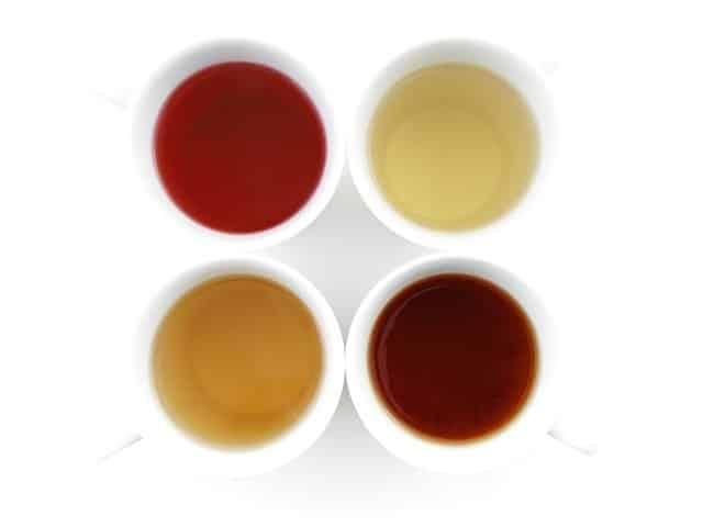 Liste complète des thés (et leurs noms)