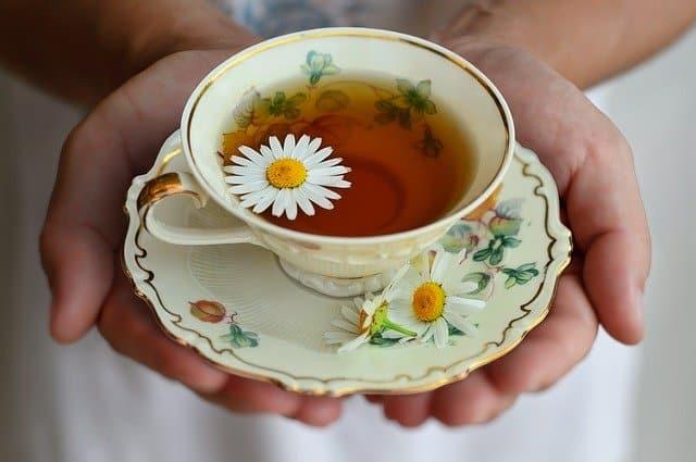 bienfaits de thé à la camomille