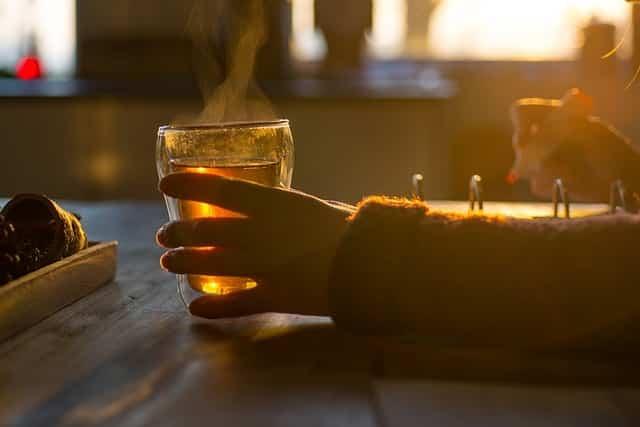 préparation de thé au chardon marie