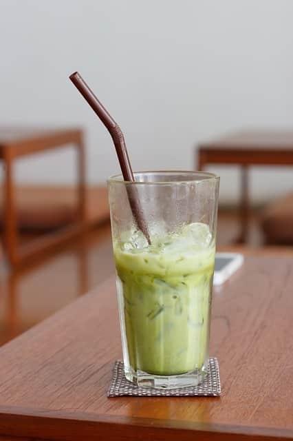 cocktail à base de thé vert