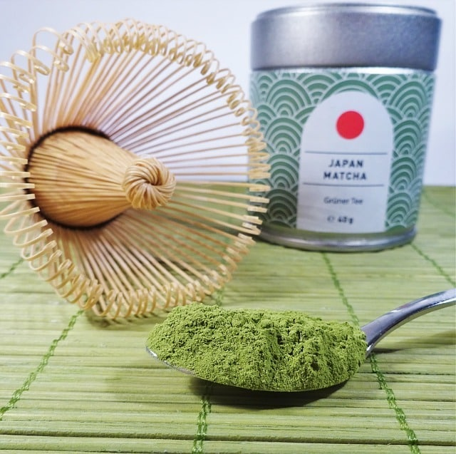 thé vert japonnais