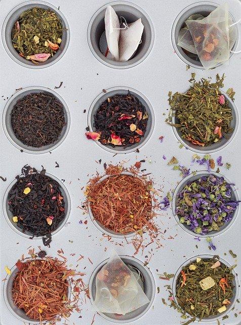 différents noms de thé