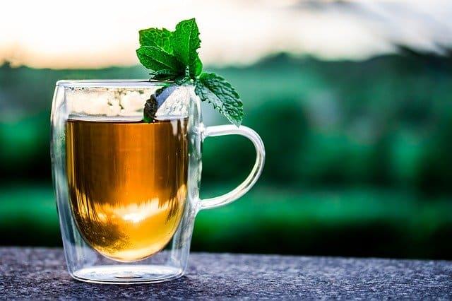 bienfaits de thé à la menthe poivrée