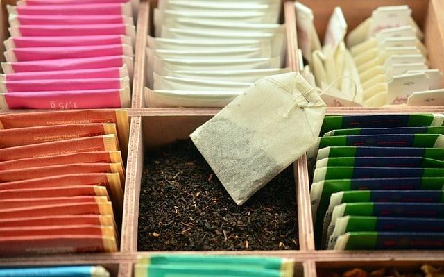 avantages de sachet de thé