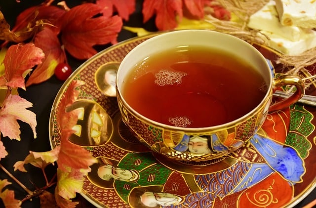 combien de théine dans le thé noir