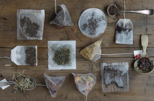 Dissection d'un sachet de thé (pour votre plus grand plaisir)