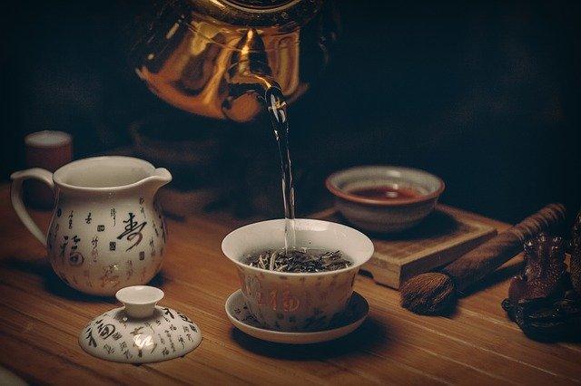 Transformation thé pivoine Blanche