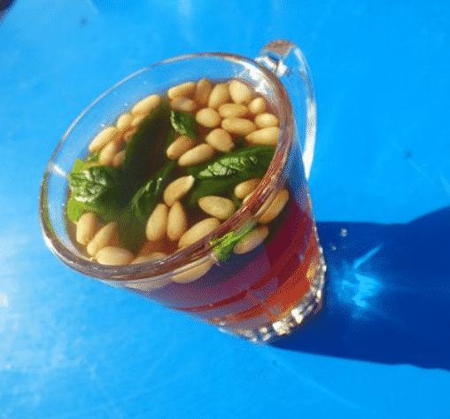 Thé à la menthe Tunisien (avec des Pignons)