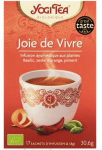 sachet de thé bio