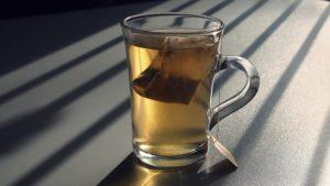 sachet de thé en plastique
