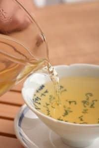 Dosage thé noir