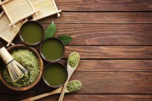 matcha-cheuveux (poudre de thé vert cheveux)