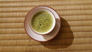 bienfaits de thé matcha (poudre de thé vert effet secondaire)