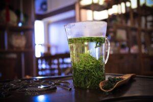 cure de désintoxication avec le thé vert