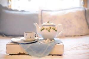 thé vert pour le matin