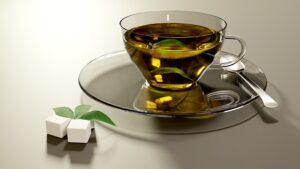 risque du sucre ajouté dans le thé vert